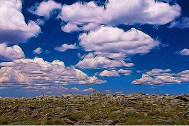 Mountaineous Sky