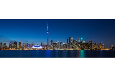 Toronto Nightscape Pano