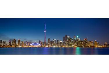 Toronto Nightscape Pano HDR