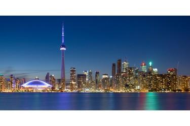 Toronto Nightscape HDR