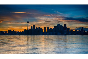 Toronto after Sunset