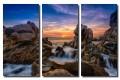 Acrylic Triptych