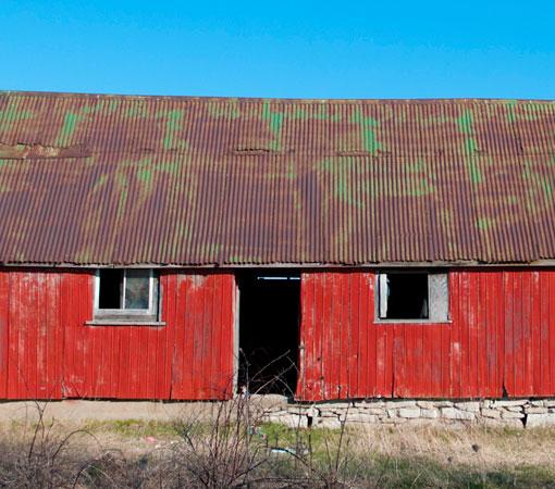 Abandoned Red House Steven Vandervelde Photography