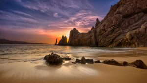 lovers beach sunrise cabo san lucas landscape photography