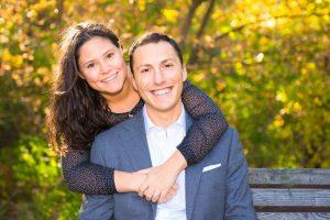 couple engaged portrait photographer markham