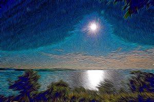 impressionist moonlight