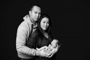 markham newborn baby portrait photographer