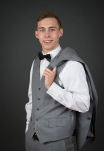 teen prom portrait professional photographer