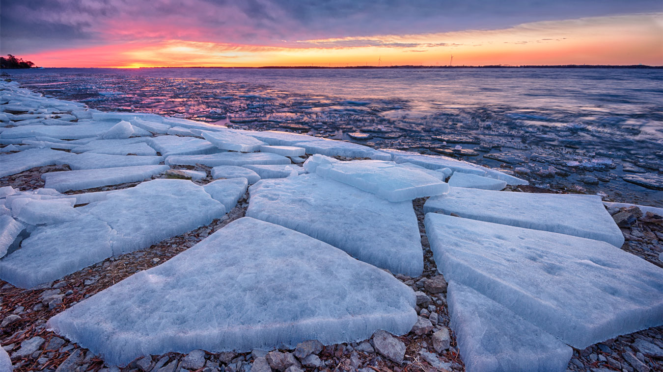 Ice Polygons-Steven Vandervelde Photography
