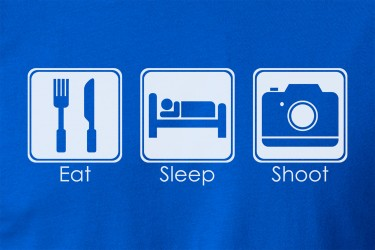 Eat Sleep Shoot T-Shirt