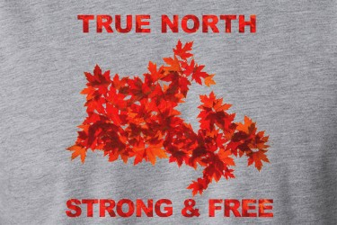 True North Strong and Free T-Shirt