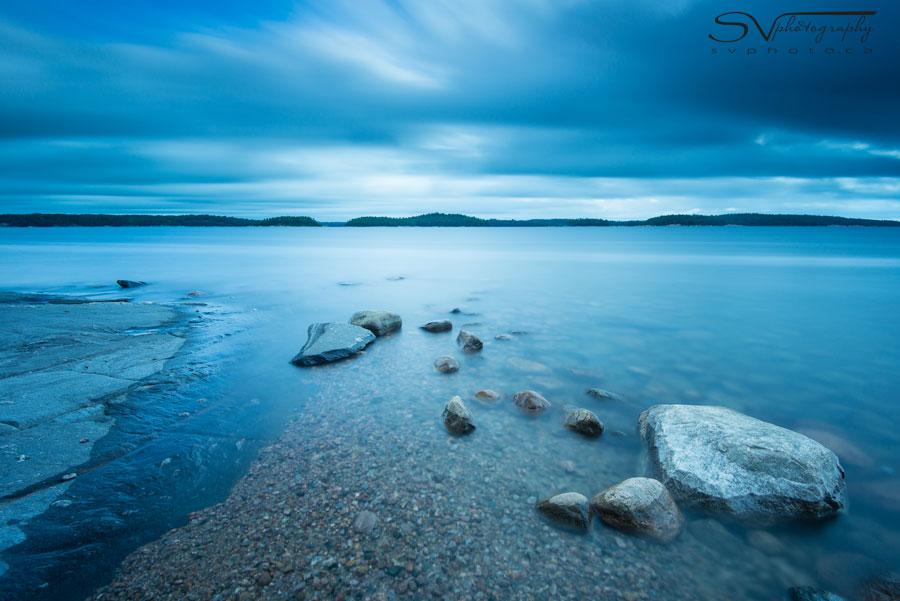Rocks in Water Nikon D800 w/ 16-35 f/4 @ 16mm, ISO 100, 2min 15 sec at f/8 Lee Filters Big Stopper, 0.6 ND Hard Grad, B+W Polarizing Filter