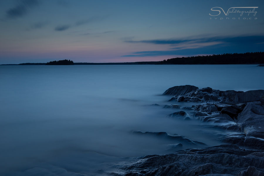 Smooth Water Rough Rock Nikon D800 w/ 16-35 f/4 @ 35mm, ISO 100, 8min at f/8 Lee Filters Big Stopper, 0.6ND Hard Grad