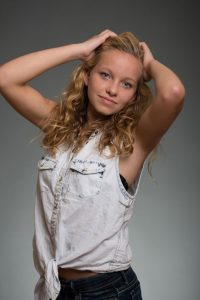 teen model portrait professional photographer