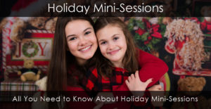 Find out more about our holiday and Christmas mini sessions in Markham