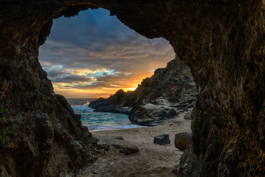 """""""Halona Cave"""" The cave on Halona Beach. Purchase a print of this image in the shop"""